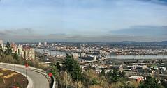 Portland, Oregon #090113m1.1 (Ansel Price) Tags: bridge oregon river portland cityscape or willametteriver