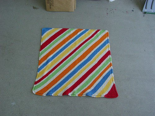 Colorful Stripey Baby Blanket