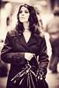 Simona - fashion time (Manlio Castagna) Tags: bw girl look fashion canon vintage bag focus dof outoffocus sguardo siena sight simona borsa bianconero manlio ragazza manliok