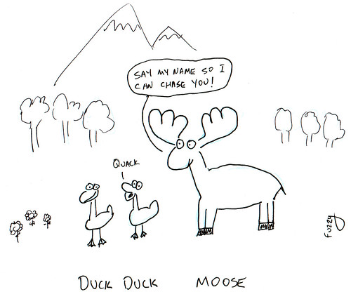366 Cartoons - 145 - Duck Duck Moose