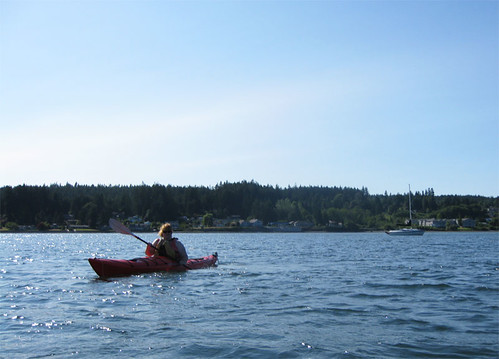 Jeri in Kayak