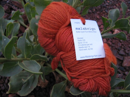 malabrigo glazed carrot