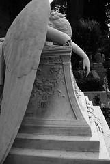 Angel of Grief - Angelo del Dolore (alfo(kat)) Tags: italy rome roma cemetery graveyard angel italia evelyn graves angelo rom protestant grief piramide cimitero keats johnkeats dolore gramsci te