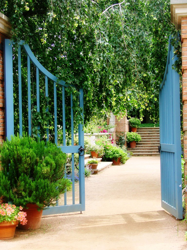 Gate in the garden