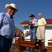 Ken Stiles, Gerry Moooney and Dr. Donald MacMahon at OH Ranches