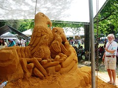 Other Side of the Sand Sculpture