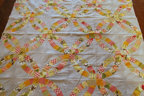 Katherine's Double Wedding Ring Quilt