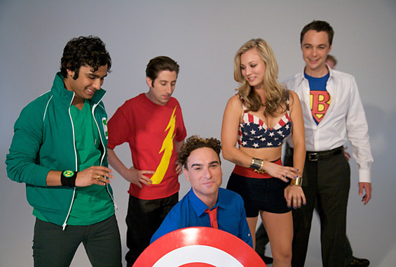The Big Bang Theory DC comics