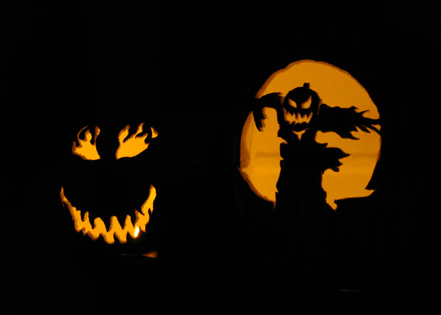 pumpkins dark