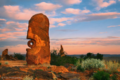 Sculpture Symposium, Broken Hill, NSW Australia (-yury-) Tags: sunset sculpture australia nsw outback symposium brokenhill bajoelsoljaguar underthejaguarsun antonionavatirado photographicperspective
