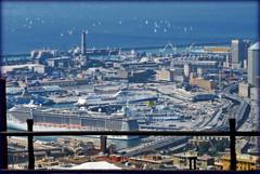 oltre il porto, il mare aperto (ludi_ste) Tags: sea mer port mare genoa genova porto hafen genes genua