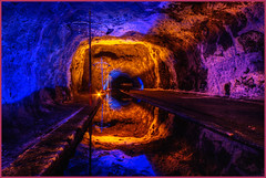 Salt Mine, Nemocon, Colombia (szeke) Tags: reflection colombia mine hdr cundinamarca noiseware 2011 photomatix nemocon flickrsbest imagenomic detailsenhancer canon7d nemoconsaltmine mygearandme minasdesalennemocon