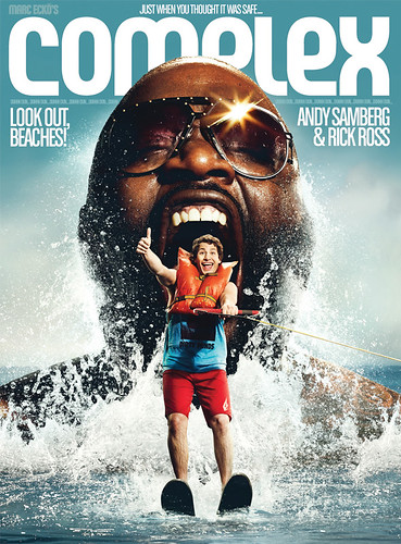 rick ross vibe cover. Rick Ross amp; Andy Samberg