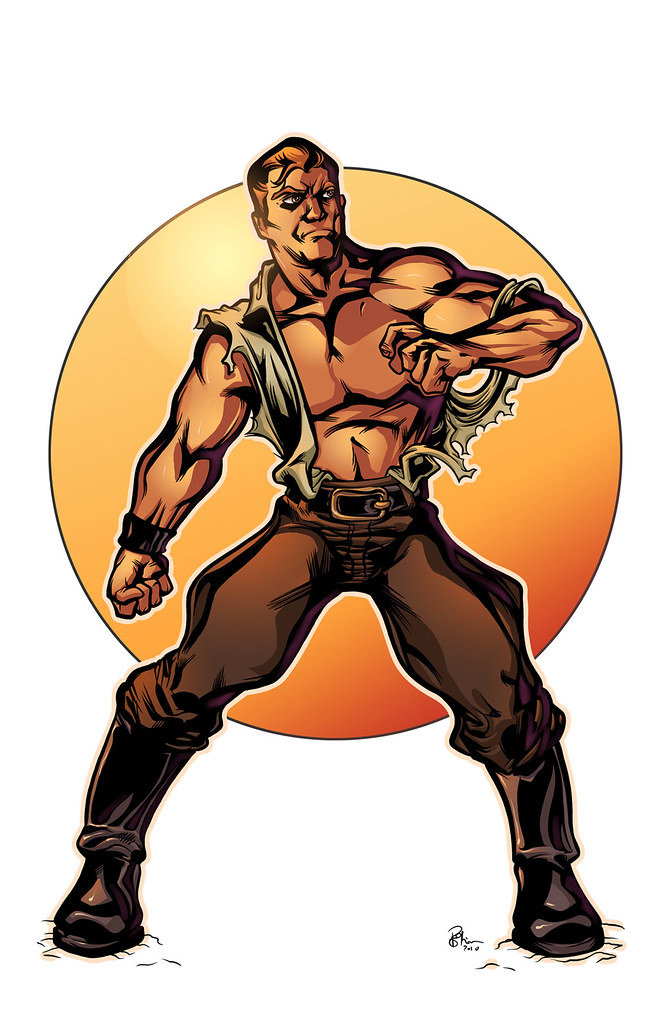 Doc Savage by Pedro Potier