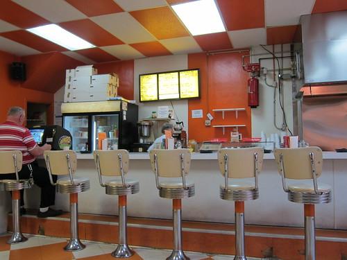 Bar at The Sandwich Shop