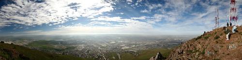 Tijuana Panorama Desde el Cerro Colorado