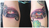 My new eyes Tattoo artist: MOUSE