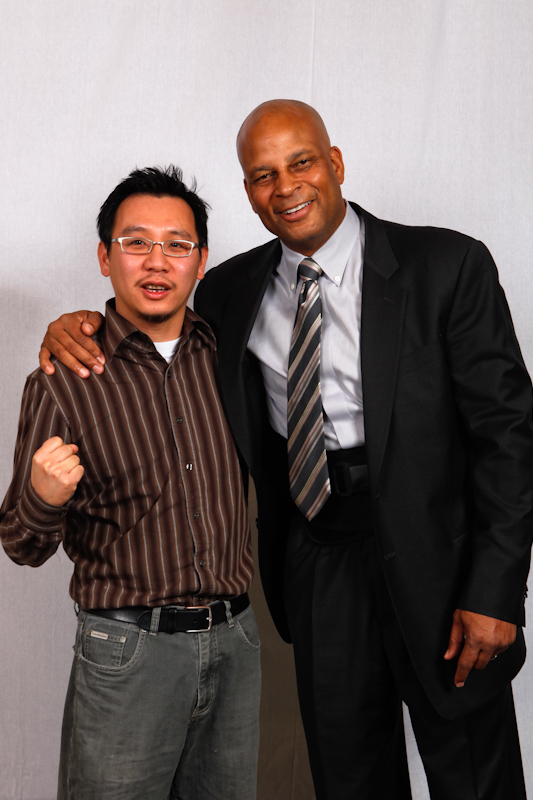 Meet and Greet with Ronnie Lott by orange photography