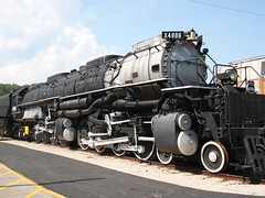 Big Boy at Museum of Transport_P9240857 (Wampa-One) Tags: train engine steam unionpacific locomotive 1941 bigboy alco stlouismo museumoftransportation museumoftransport 4884 4006 stlouiscountyparks x4006 up4006