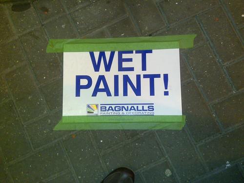 Wet Paint!