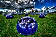 Art Basel in Miami (MDSimages.com) Tags: art florida miami basel artshow hdr artbasel photomatix miamiskyline dadecounty artbasil cantspellit michaelsteighner mdsimages whatsupmike
