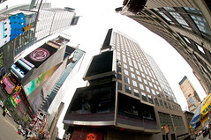 Simply Fish-Eye - Times Square (Fahad Al Nusf) Tags: new york usa fish newyork eye me architecture digital square us nikon asia gulf middleeast fisheye explore ku arab timessquare times kuwait 105 fahad kw arabiangulf q8 essam d300 105mm kwt alnusif   explored architecturephotography  nikond300 fenyn fahadalnusf alnusf   nusef nusif alnusef fahadessamalnusf essamalnusf alnisef alnisf nisf nisef