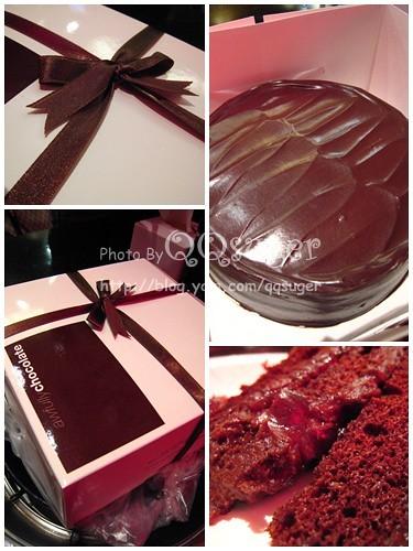 你拍攝的 AF酒釀黑櫻桃蛋糕。