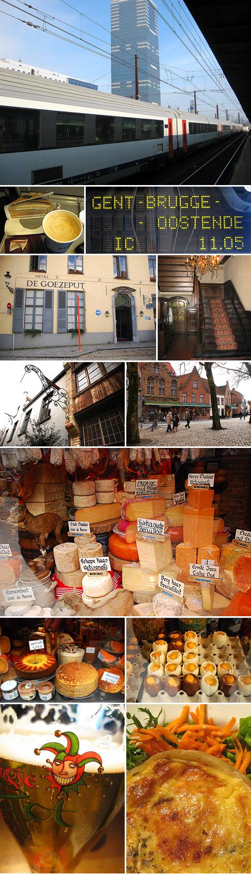 Brugge: March 2009