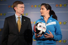 Attorney General Dustin McDaniel and Misty May Treanor (century council) Tags: usa dc washington general may dustin listen beach scenes council professional century general behind dustin misty may athlete volleyball mcdaniel attorney ask learn treanor volleyball attorneys
