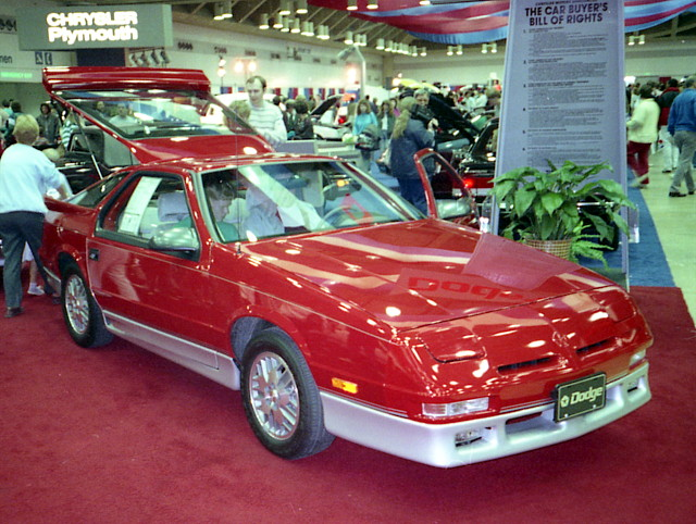 dodge mopar daytona 1990 carshow baltimoreconventioncenter daytonaes fwdmopar baltimoreinternationalautoshow