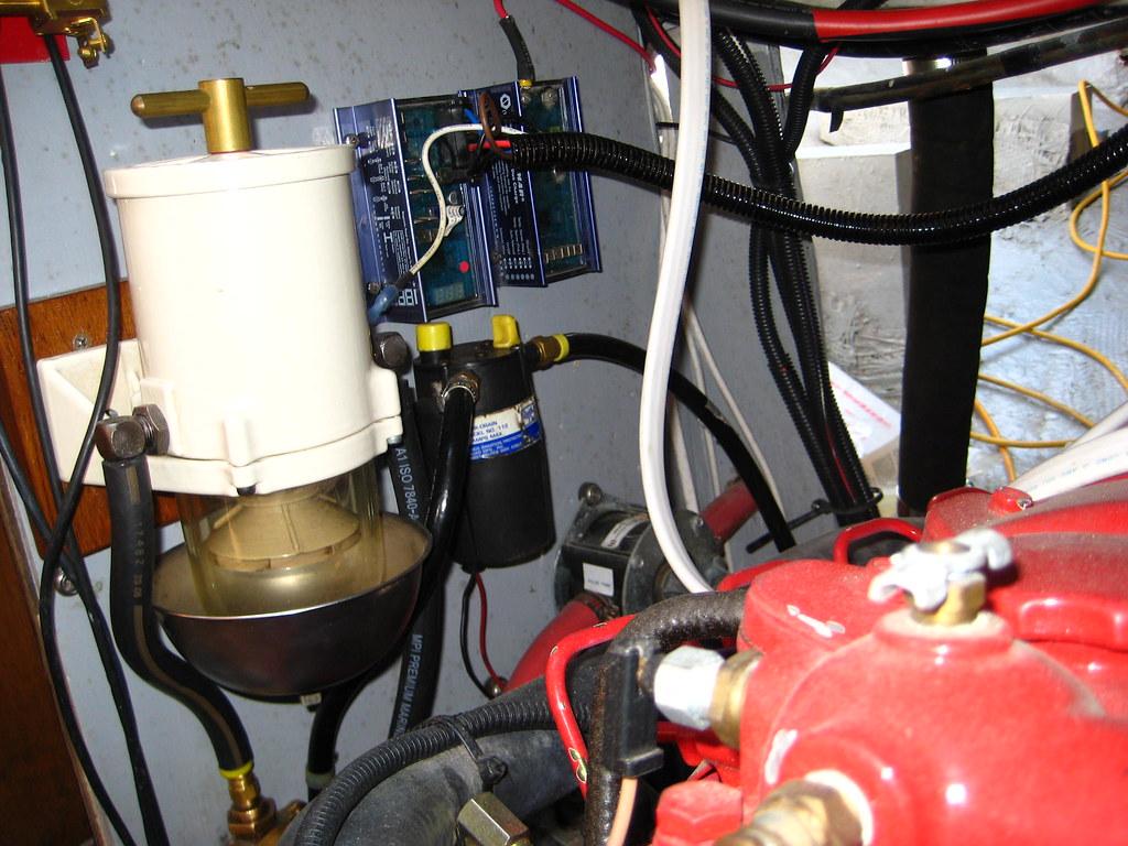 Engine utility panel