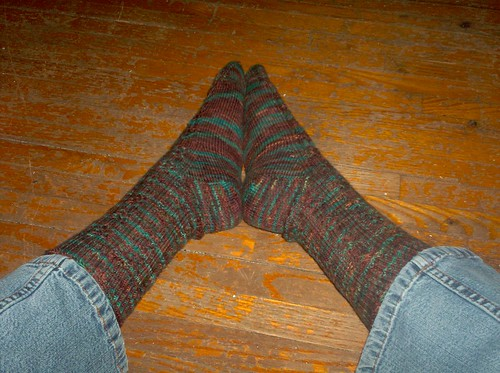 Knotty or Knice Socks, Complete