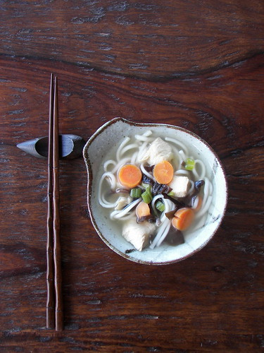 Udon Chicken Soup