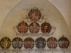 Nowe Archiwa Ziemskie (magro_kr) Tags: castle heraldry coatofarms prague decoration praha praga palace czechrepublic herb palac zamek paac czechy dekoracja eskrebublika heraldyka