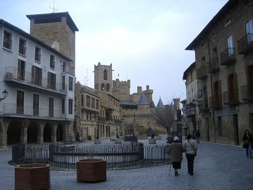 Barrio palacio Olite