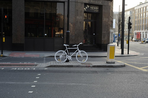 Ghost Bike of St John St