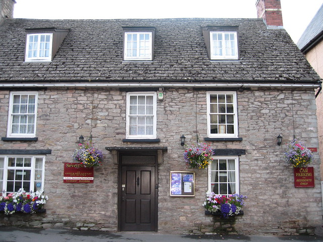 Seven Stars, quirky lodging in Hay-on-Wye, Wales