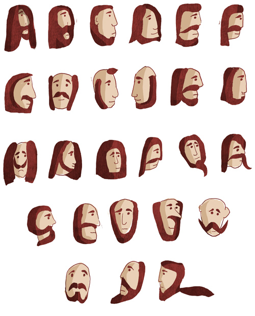 police à barbe