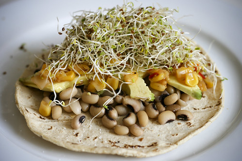 Black-Eyed Pea Taco