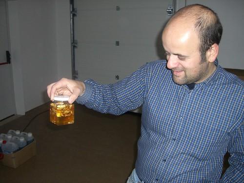 Nuno y el color de la miel