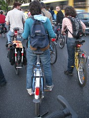 Girls on Critical Mass