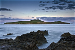 Ballycotton (Pockets1) Tags: longexposure ireland sea lighthouse seascape jason motion water canon island evening town rocks dusk cork 1785mm 2009 ballycotton soften ndfilter silkey  the4elements 40d corkcameragroup pockets1 jasontown