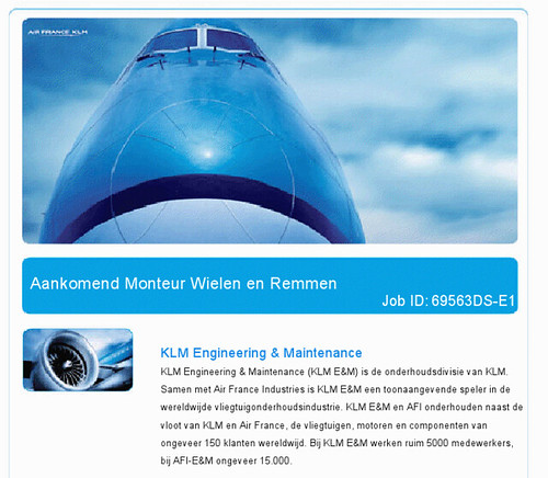 KLM: aantrekkelijk beeldmateriaal
