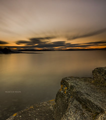 Dream a little more (mortenprom) Tags: ocean longexposure winter light sunset sea sky orange brown sun white snow plant black color reflection beach nature water yellow oslo norway clouds forest dark landscape island golden evening march norge ship skandinavien norwegen explore motionblur shore noruega scandinavia 2009 goldenhour oslofjord malmya noorwegen noreg wideangel sigma1020mm skandinavia supershot polarizerfilter nd1000 nd30 bw110 skycloudssun canoneos40d nd1000x naturaldensityfilter vosplusbellesphotos mortenprom thenewselectbest