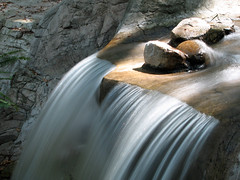 Over The Edge (rianklong) Tags: california ca longexposure water fountain rock garden waterfall rocks descanso hoya descansogardens nd400 lacaadaflintridge neutraldensity canons3