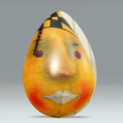 Happy Easter Frhliche Ostern (Marco Braun) Tags: orange face easter gesicht egg ostern ei easteregg happyeaster pques frhlicheostern dumpr