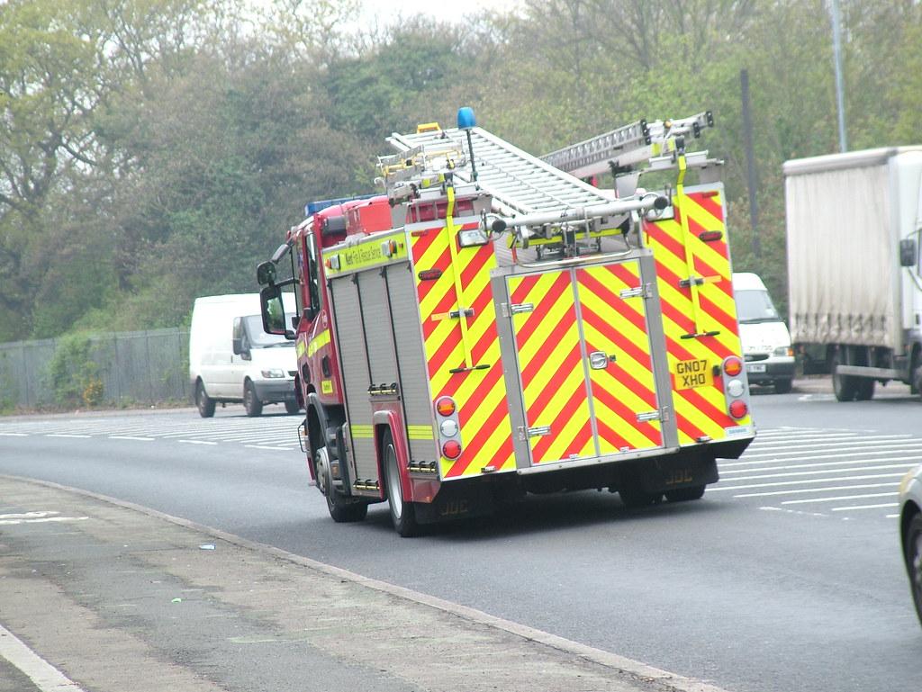 Kent Fire Scania P270