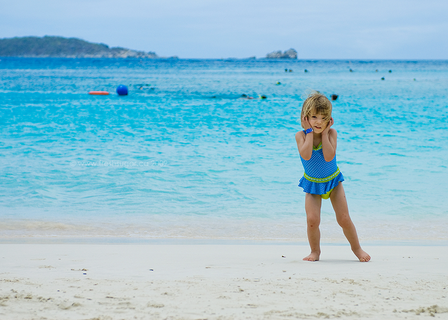 charlotte on the beach