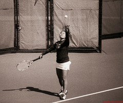 Tennis B&W (53) (shoman666) Tags: tennis pennstate psu fujineopan1600 canonf1 acufine vivitar120600 canonmd psutennis pennstatetennis