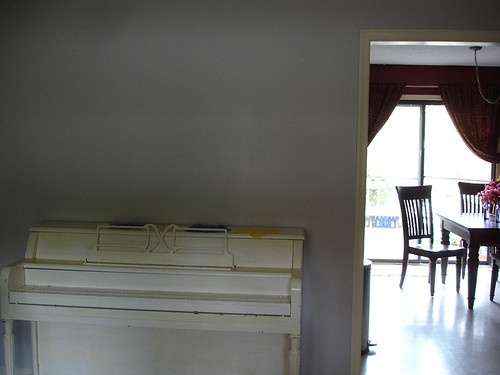 Home Renovation: Front Room Intermediate (Painted)